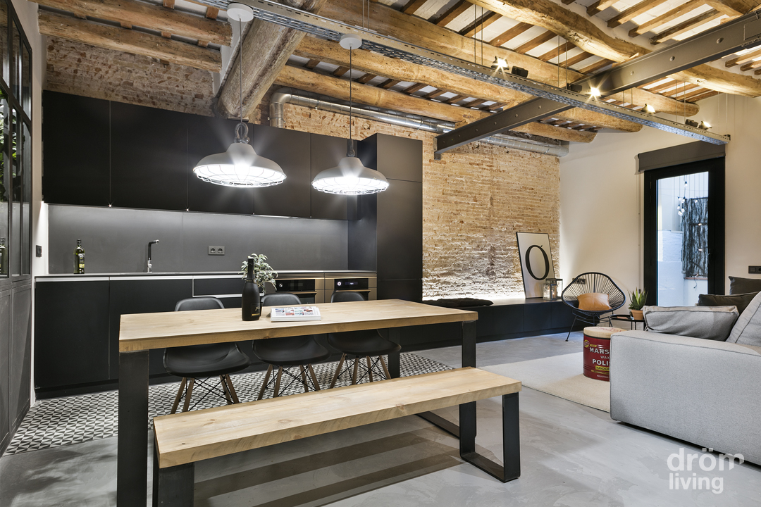 24 loft barcelona 2015 for Decoracion estilo industrial