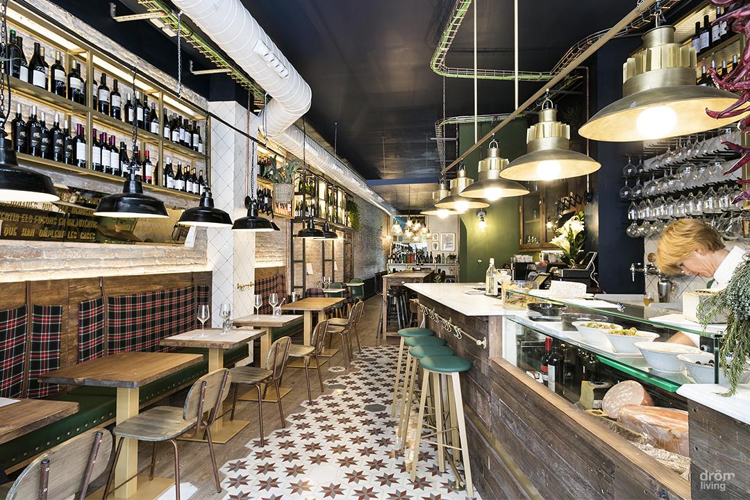 Construcción del nuevo restaurante Casa Dorita, drom living