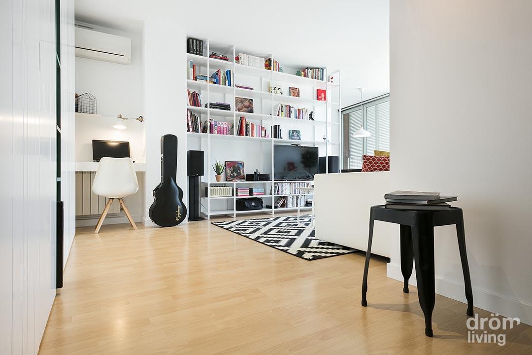 Diseño moderno de un salón