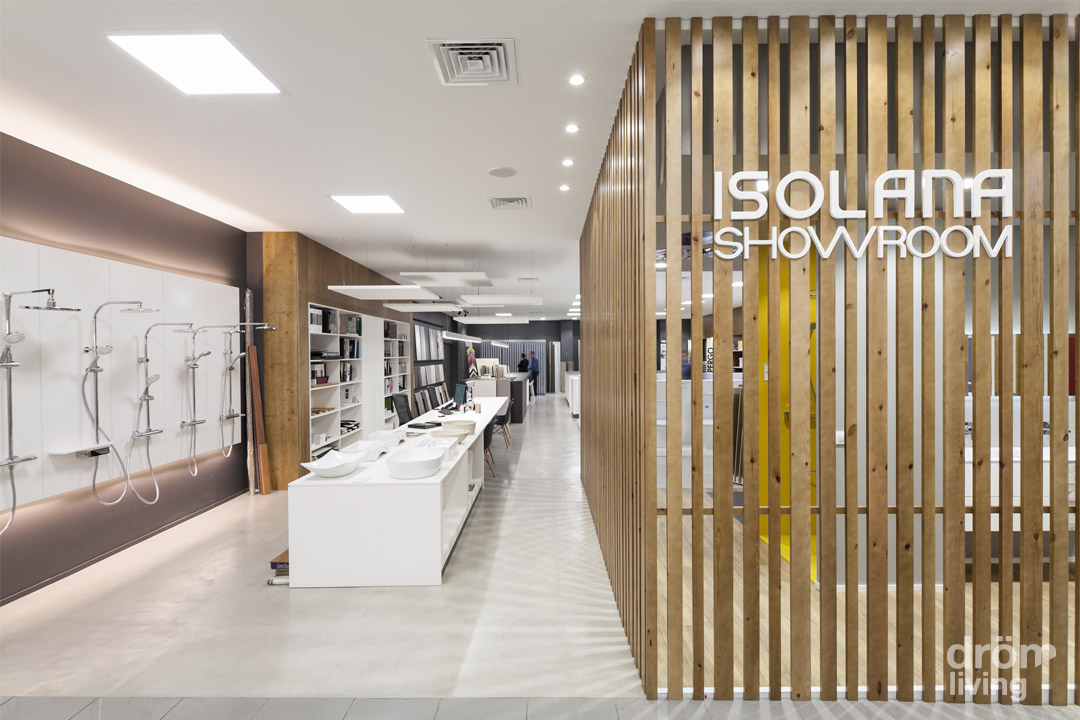 Diseño del Showroom de Isolana en Barcelona 3
