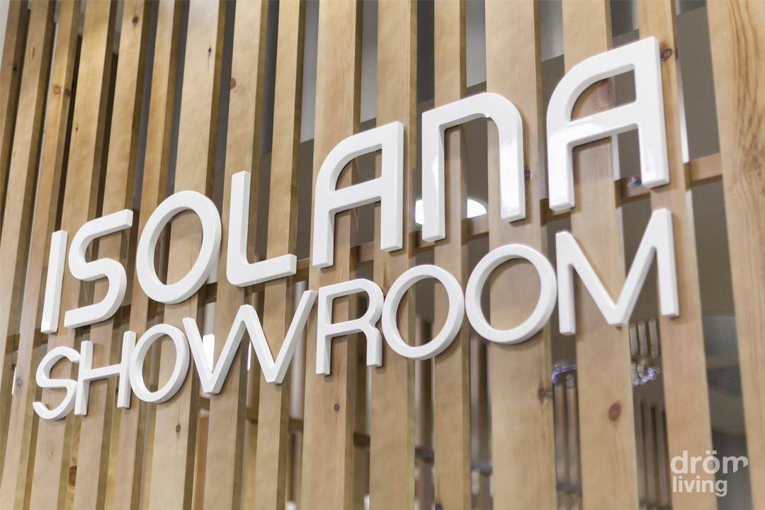 Diseño del Showroom de Isolana en Barcelona 1